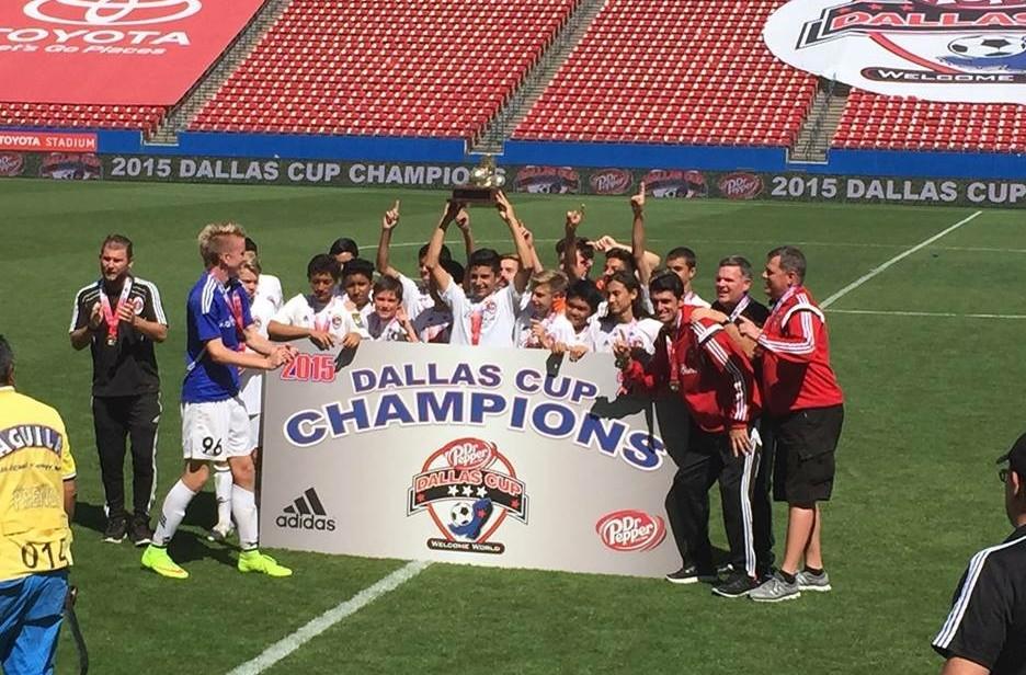 AC Brea U-14 wins Dallas Cup - SoccerNation
