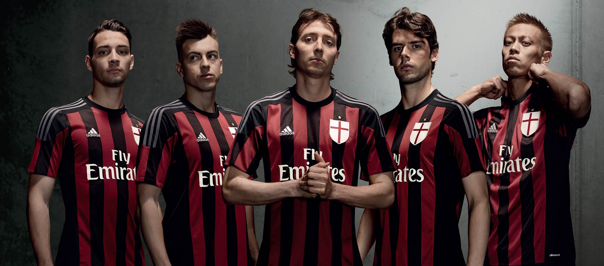 dd803dc7e85 AC Milan Launches New 2015 16 Home Jersey - SoccerNation