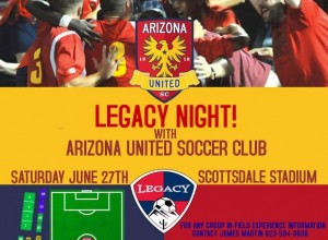 Come join AZ United for Legacy Night!