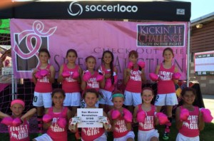 Youth Soccer Players Score Against Breast Cancer