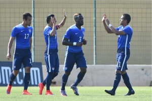 The U-20 team will now face Qatar, having to win in order to advance