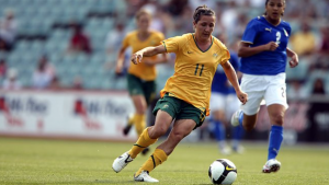 Lisa de Vanna, Australia's main forward