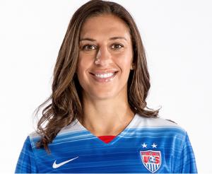 Carli Lloyd, U.S. midfielder