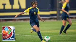 The Mexican native Christina Murillo who plays for University of Michigan