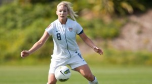 USWNT Julie Johnston from Arizona Arsenal FC