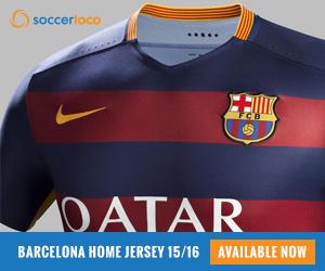 Nike Barcelona Home Jersey 15/16
