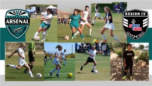 Arizona Arsenal Girls Invited to ODP Region IV Camp