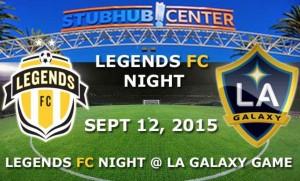 LEGENDS FC L.A. GALAXY NIGHT