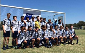 U17 West Coast FC Surf Cup Champions