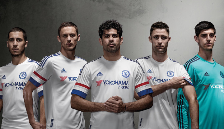 free shipping b5c18 b527f New Chelsea Away Kits Presented by adidas - SoccerNation