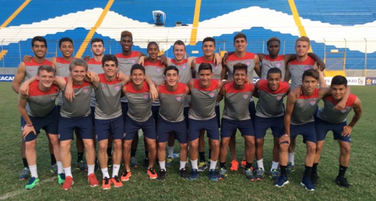 U.S. U-17 Roster for Intl. Youth Tournament Features Several California Native players