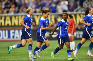 WNT Defeats Haiti 5-0 at Ford Field in Detroit
