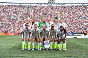 Lloyd Hat Trick Leads WNT to 8-0 Victory v Haiti