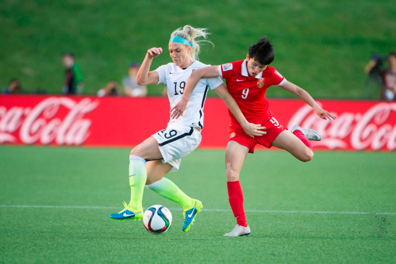 U.S. Women's National Team to play China PR in Glendale, Arizona on December 13
