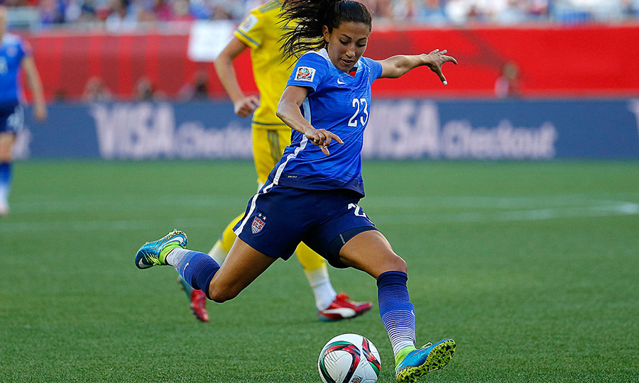 U.S. Women Defeat China PR 2-0 in Arizona