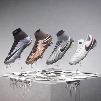 Shop Nike Liquid Chrome Footwear