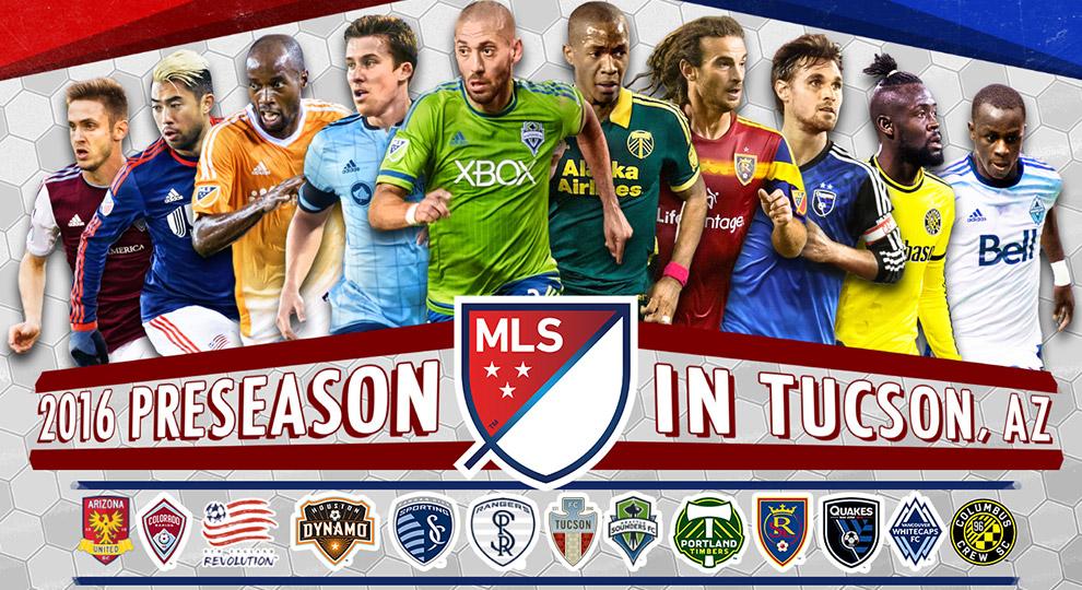 MLS Preseason & USMNT Schedule For California, Arizona,
