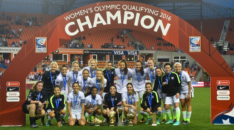 USA women book ticket to 2016 Rio Olympics soccer tournament