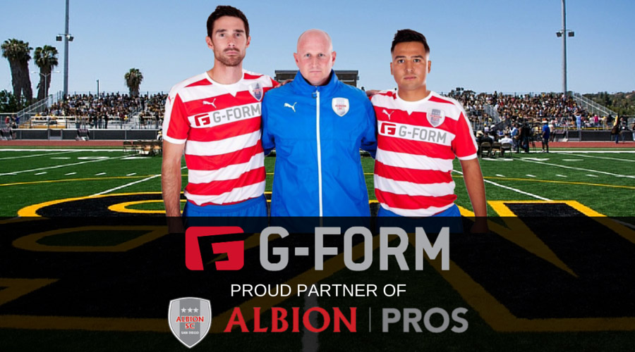 Albion Pros Partner with G-Form