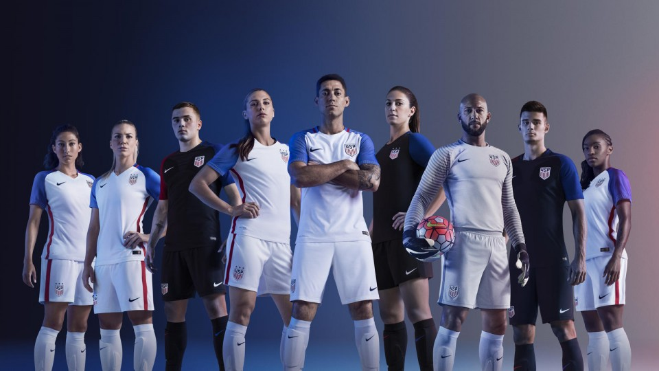 2016 USA National Team Kits