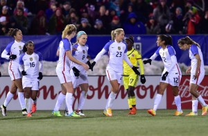 UCLA's Mallory Pugh & LA Native Christen Press Score In USWNT's 7-0 Win