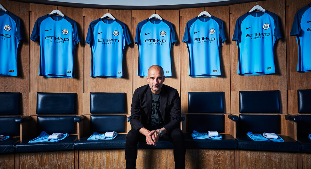 Manchester City Launches 2016-17 Home Kit
