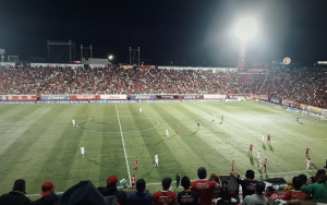 "Xolos Manager Miguel ""Piojo"" Herrera Gains his First League Win at the Estadio Caliente"