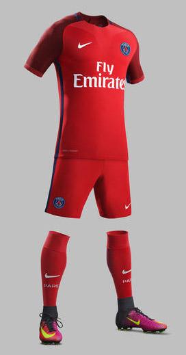 Nike Paris Saint-Germain Away Kit 16/17