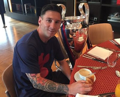 Eat Like Messi, Play Like Messi