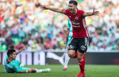 Guido Rodriguez Helps Carry Xolos to a 2-1 Win Over Santos Laguna