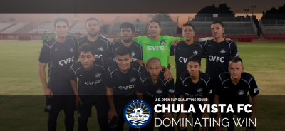 Chula Vista FC Dominates U.S. Open Cup Qualifying Match
