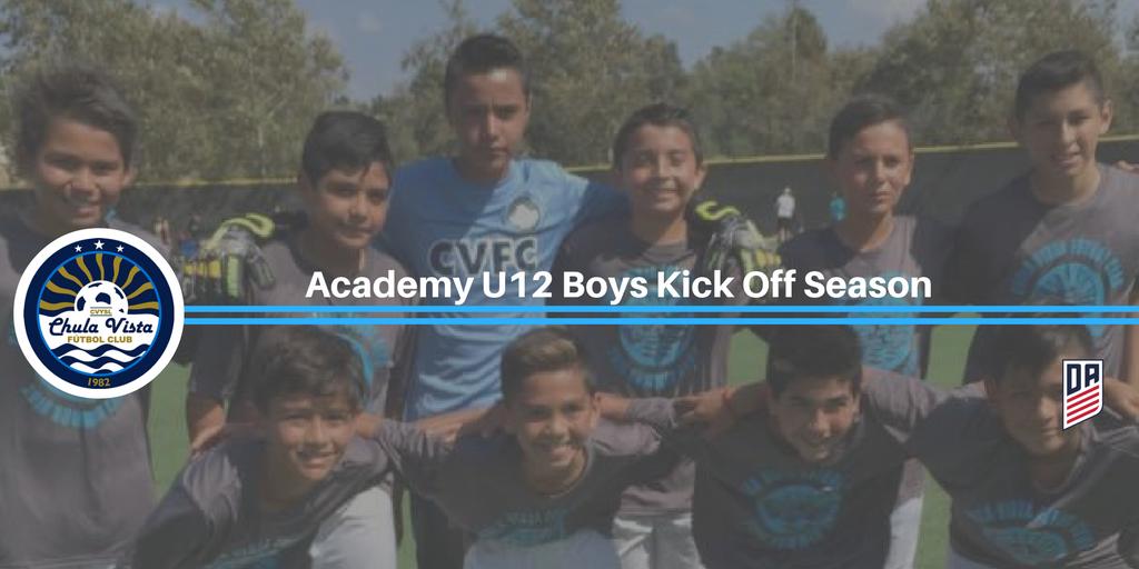 Chula Vista FC Academy U12 Boys Kick Off Season