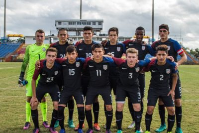 Three California Natives Called Up To U-20 MNT