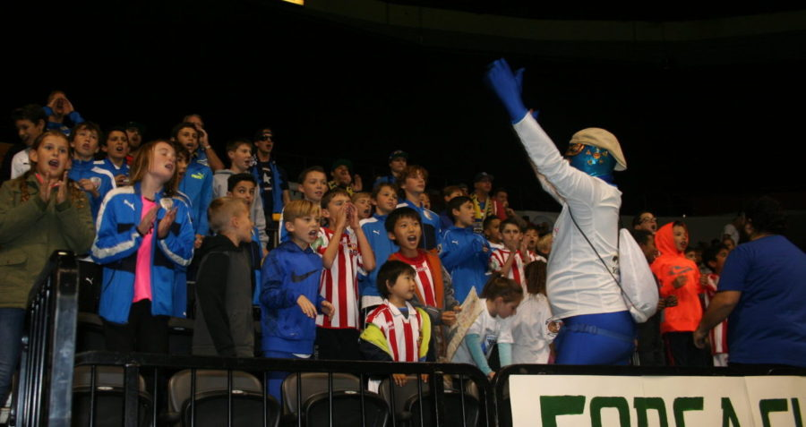 Presidio Soccer League Night at San Diego Sockers Game