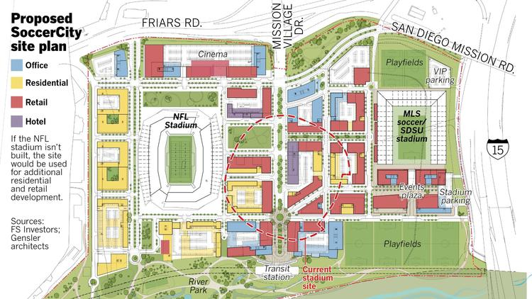 Details Revealed for FS Investors' Plan for Soccer City San ... on txst map, mesa college map, csu san marcos map, ssu map, north park map, claremont map, wright state university campus map, san francisco state university campus map, west chester university campus map, uc riverside map, northwestern map, long beach city college map, north dakota state university campus map, sjsu map, san diego map, usfca map, wcu map, usd map, ndsu map, texas a&m map,