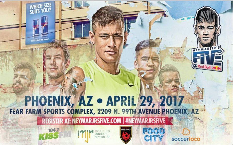 Neymar Jr's Five Lands in Phoenix Arizona