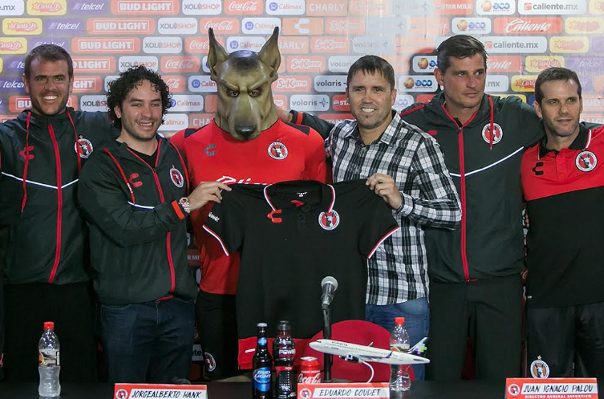 """Coudet: Eduardo """"Chacho"""" Coudet Is Presented As Club Tijuana's New"""