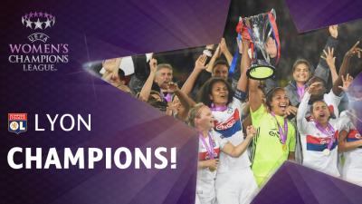 Alex Morgan Wins Women's Champions League With Lyon