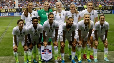 23-Player USWNT Roster Named For 2017 Tournament of Nations in San Diego & Los Angeles