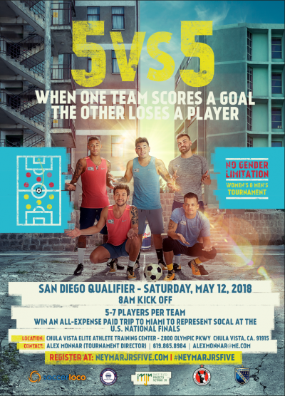 Neymar Jr's Five Global Soccer Tournament Returns For Third Edition