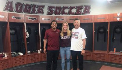 It's Never Too Late : Sarah Trent's #collegesoccer Recruiting Journey #aggieup