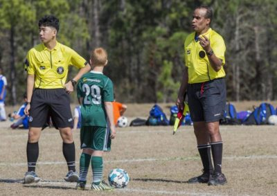 Youth Soccer Referees – Dealing With Questionable Calls