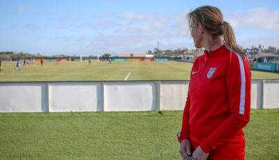 The future of US Women's Soccer is in capable the hands of Mirelle van Rijbroek