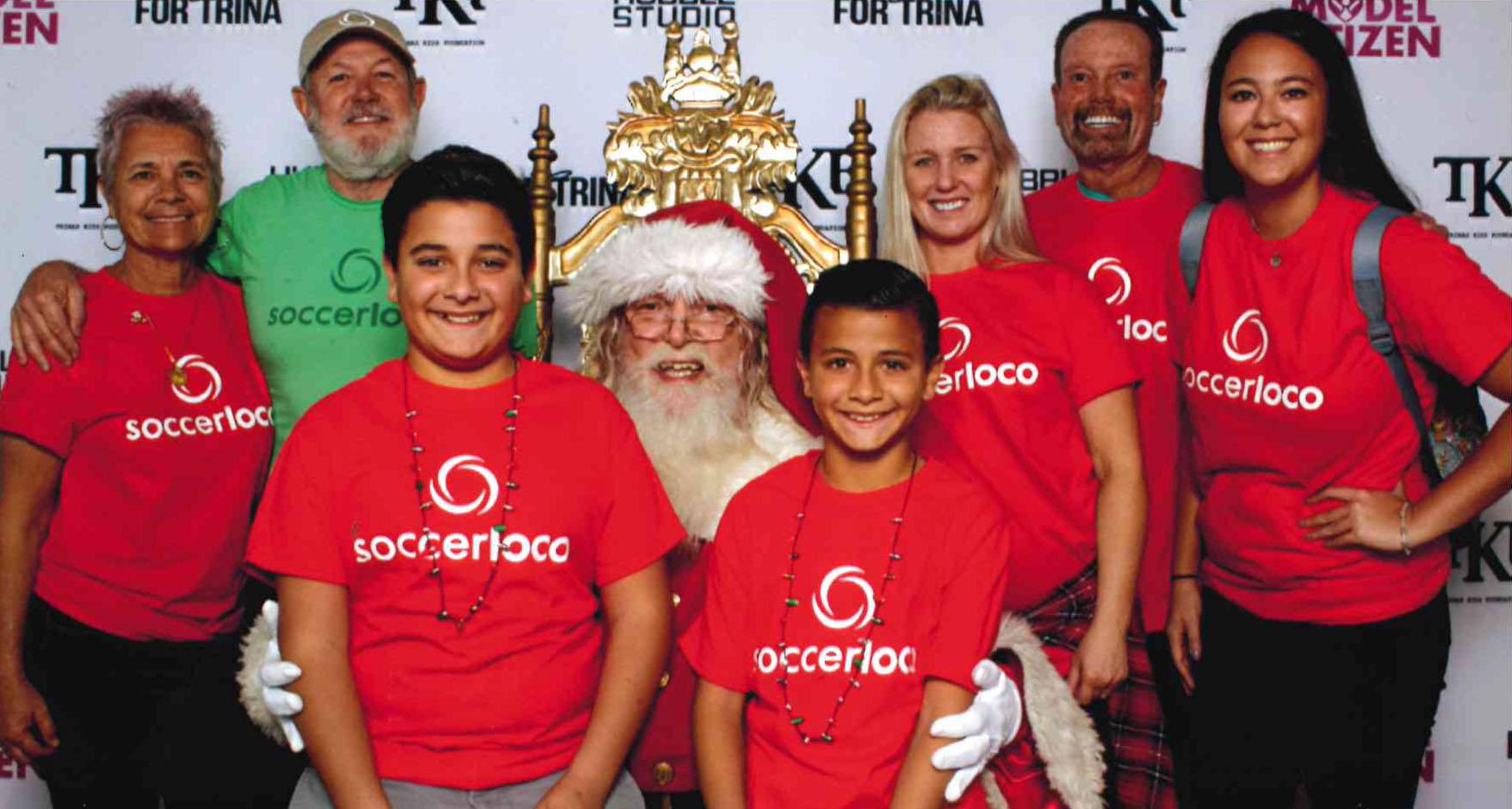 soccerloco Donates to Trina's Kids