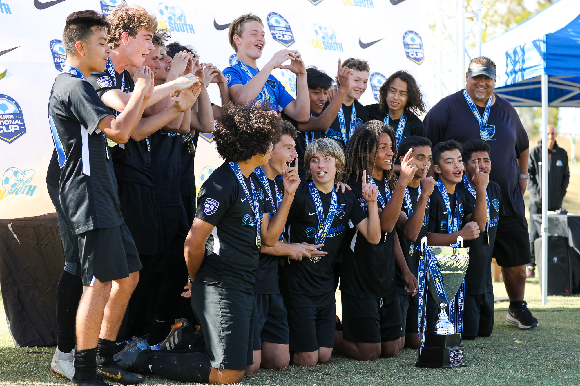 Oceanside Breakers Win Their First Boys National Cup Championship #BreakerMade