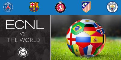 ECNL Teams to Face Atletico Madrid, Man City, Barca, and PSG Next Month